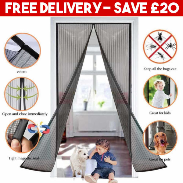 magnetic insect screen door curtain uk supplier